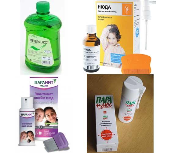 Лекарства от педикулеза