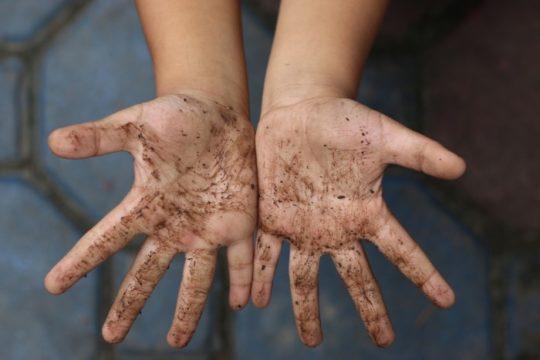 Грязные руки и глисты