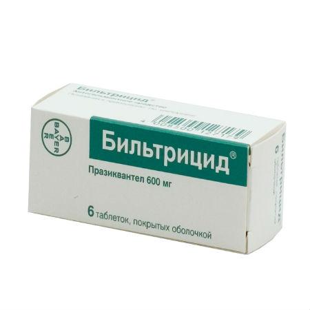 Цены на лекарства от глистов