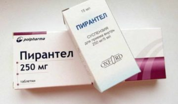 Препараты против остриц