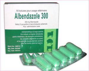 Альбендазол для животных