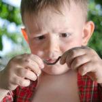 Глисты в кале у ребенка