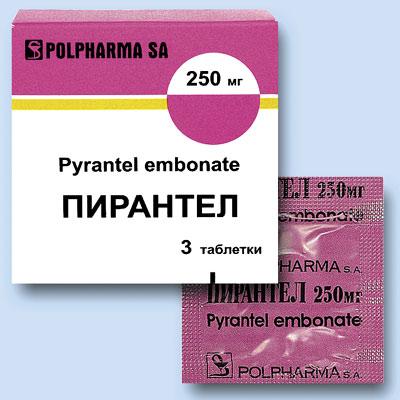 Таблетки от остриц