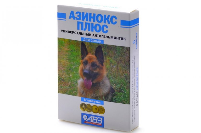 Азинокс от глистов