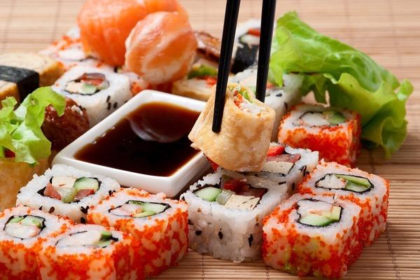 Глисты от суши и роллов
